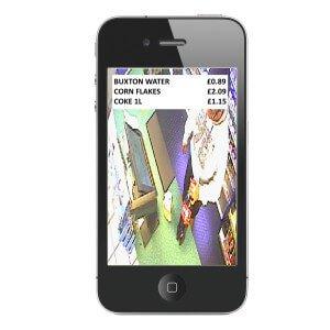 CCTV Overlay iPhone
